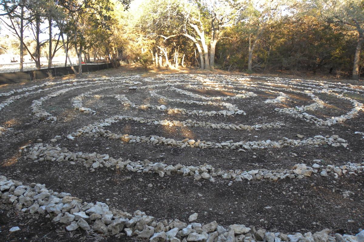 Labyrinth at Brushy Creek Park - Cedar Park TX