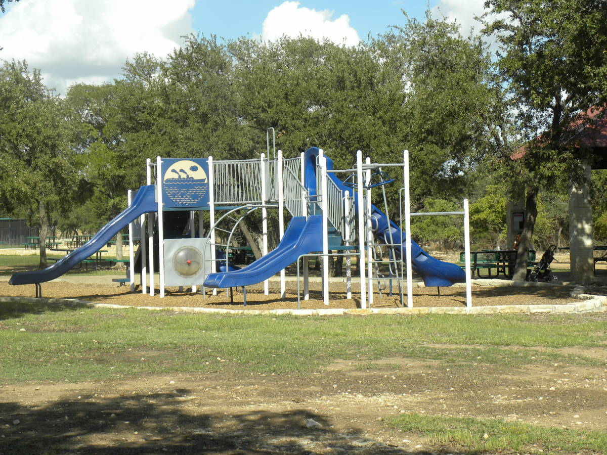 Playground at Brushy Creek Park Cedar Park Texas