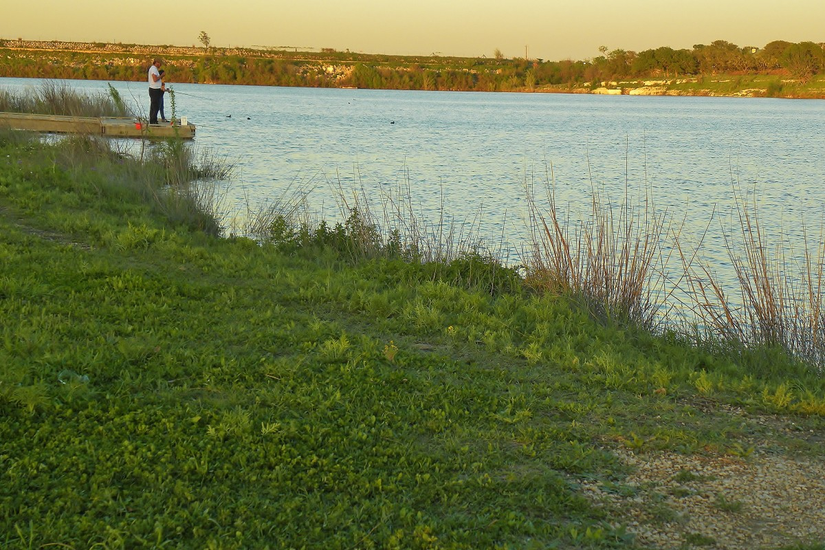 Fishing at Brushy Creek Park Cedar Park Tx