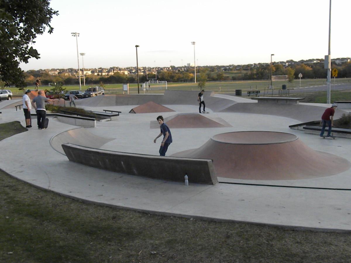 Brushy Creek Sports Park SkatePark  - Cedar Park TX
