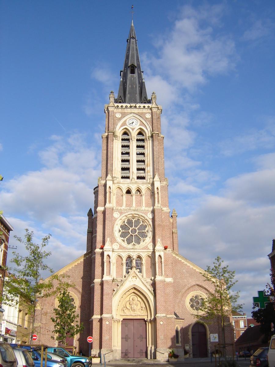Saint-Hilaire church, Halluin