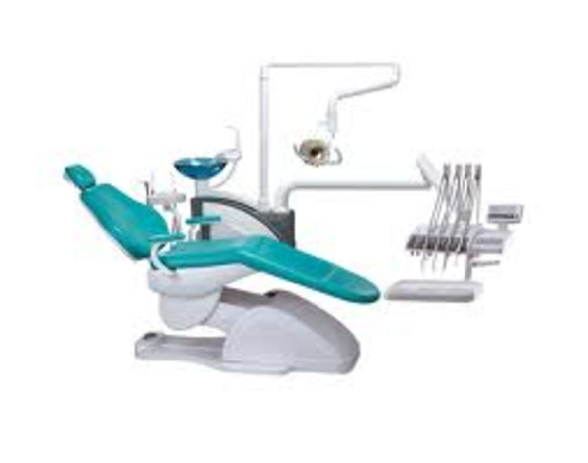 Patient and Dentist Chair positions in Dentistry