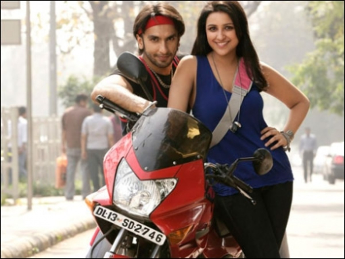 Dashing Ranveer Singh and Hot Parineeti Chopra