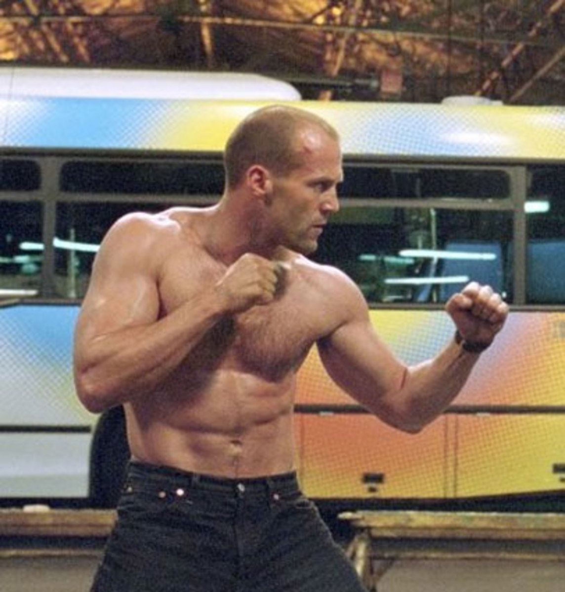 What Would Jason Statham Do?  A No Frills Rich Man's Gym Workout Routine