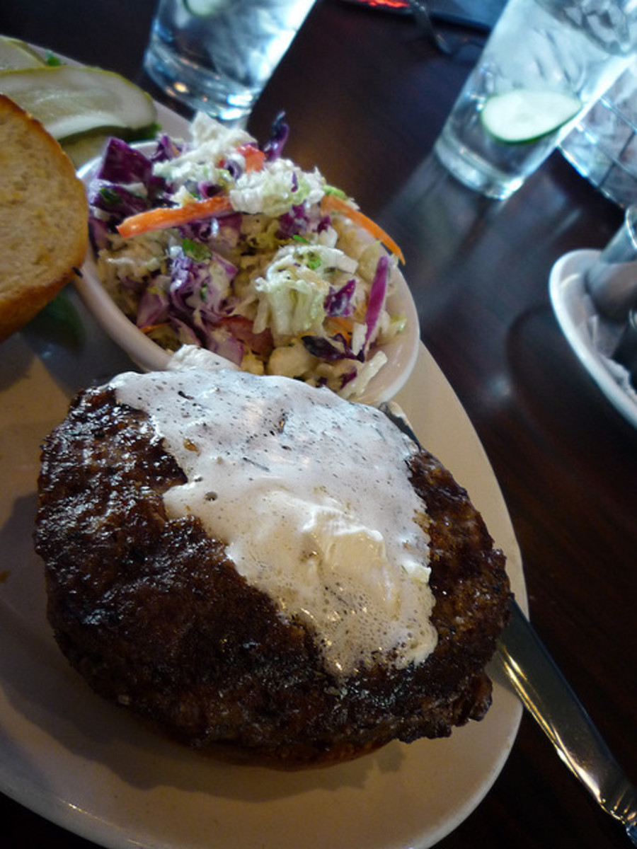 Knife and Fork Grilled Burger