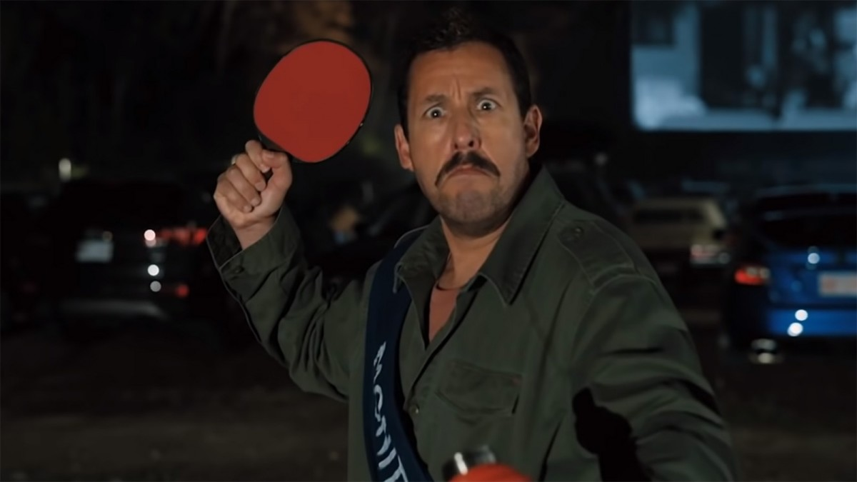 ...protecting the people of Salem with a ping pong paddle...