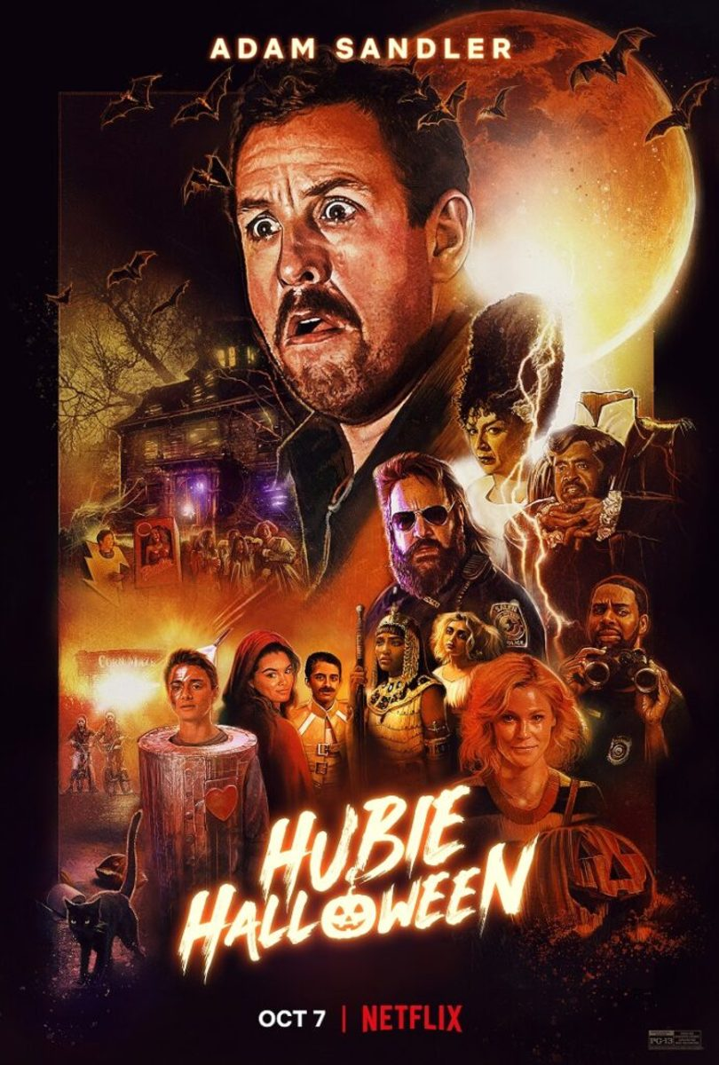 PS - That's why the main character's name is Hubie, just so everyone can call him Pubie throughout the whole movie. How clever...