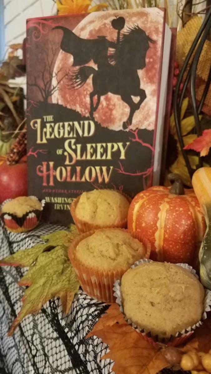the-legend-of-sleepy-hollow-and-pumpkin-pie-muffin-recipe
