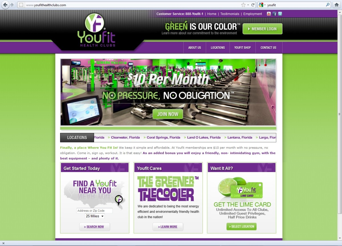 YOUFIT: Not A Good Fit