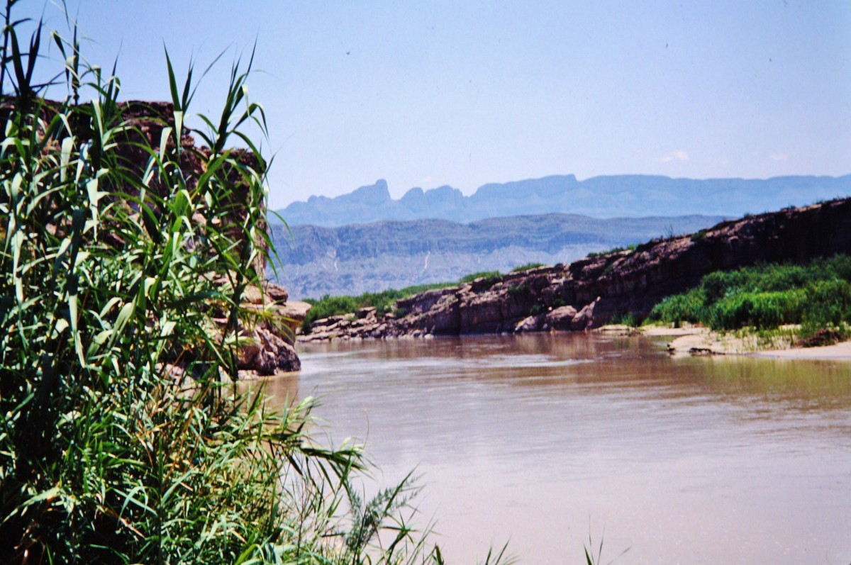 Rio Grande River in Big Bend National Park