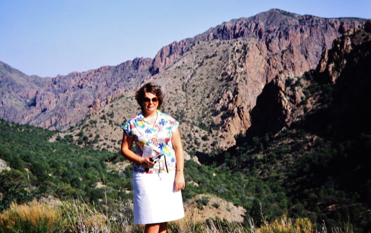 Yours truly in Big Bend National Park