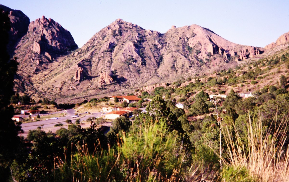 Buildings within the Basin of the Chisos Mountains