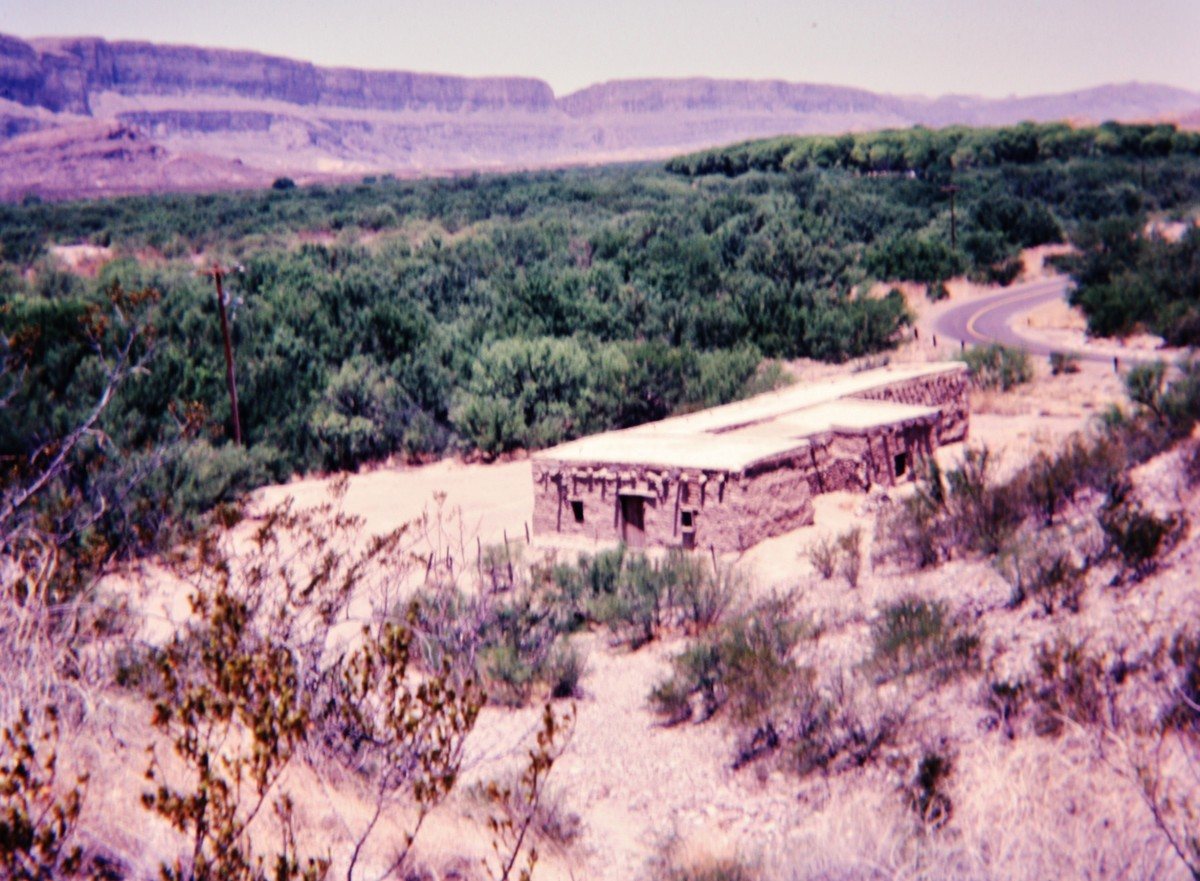 Evidence of past settlement within Big Bend National Park