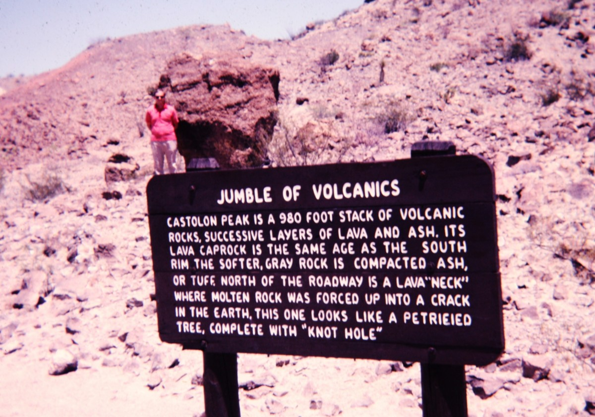 Jumble of Volcanics within Big Bend
