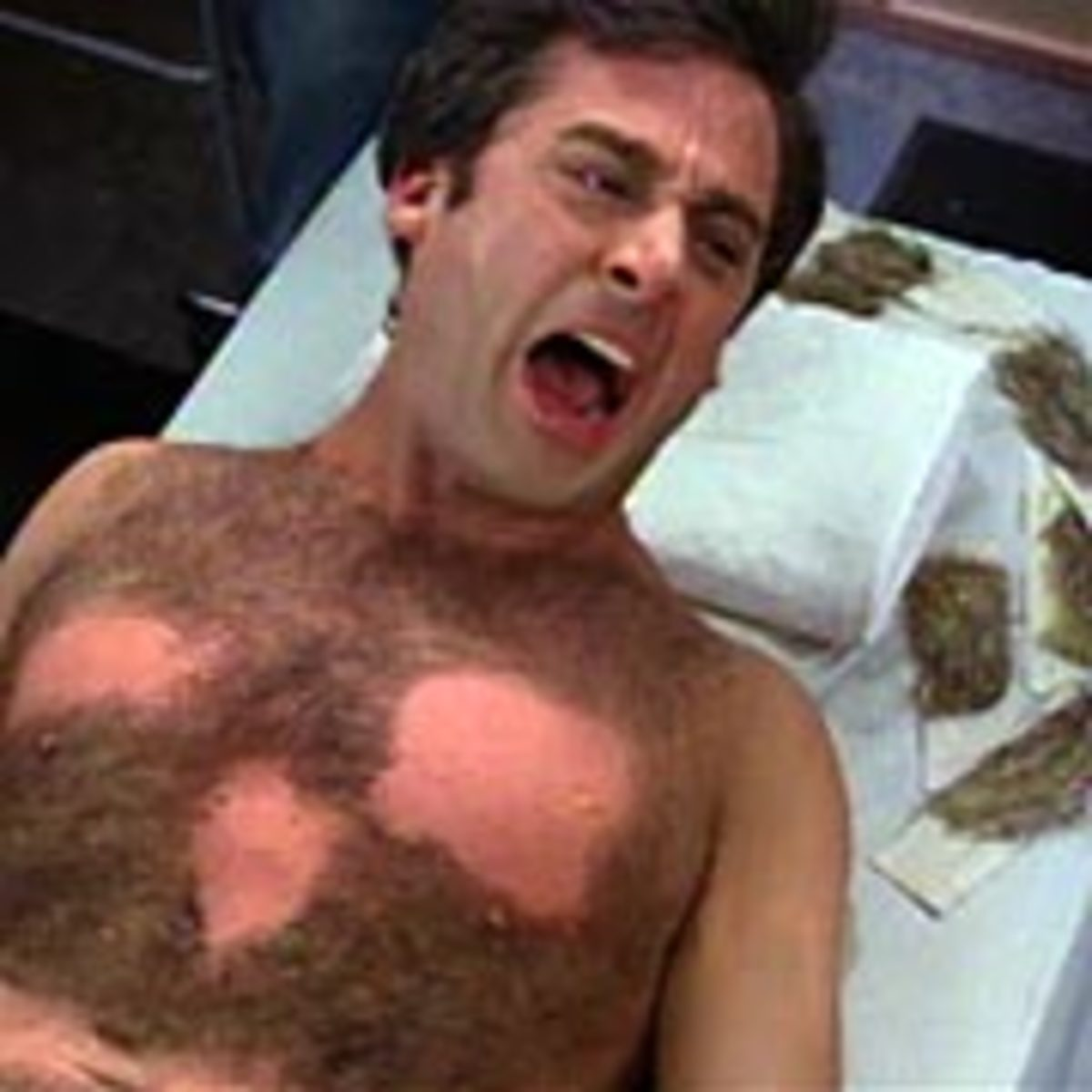 Getting Your Chest Waxed