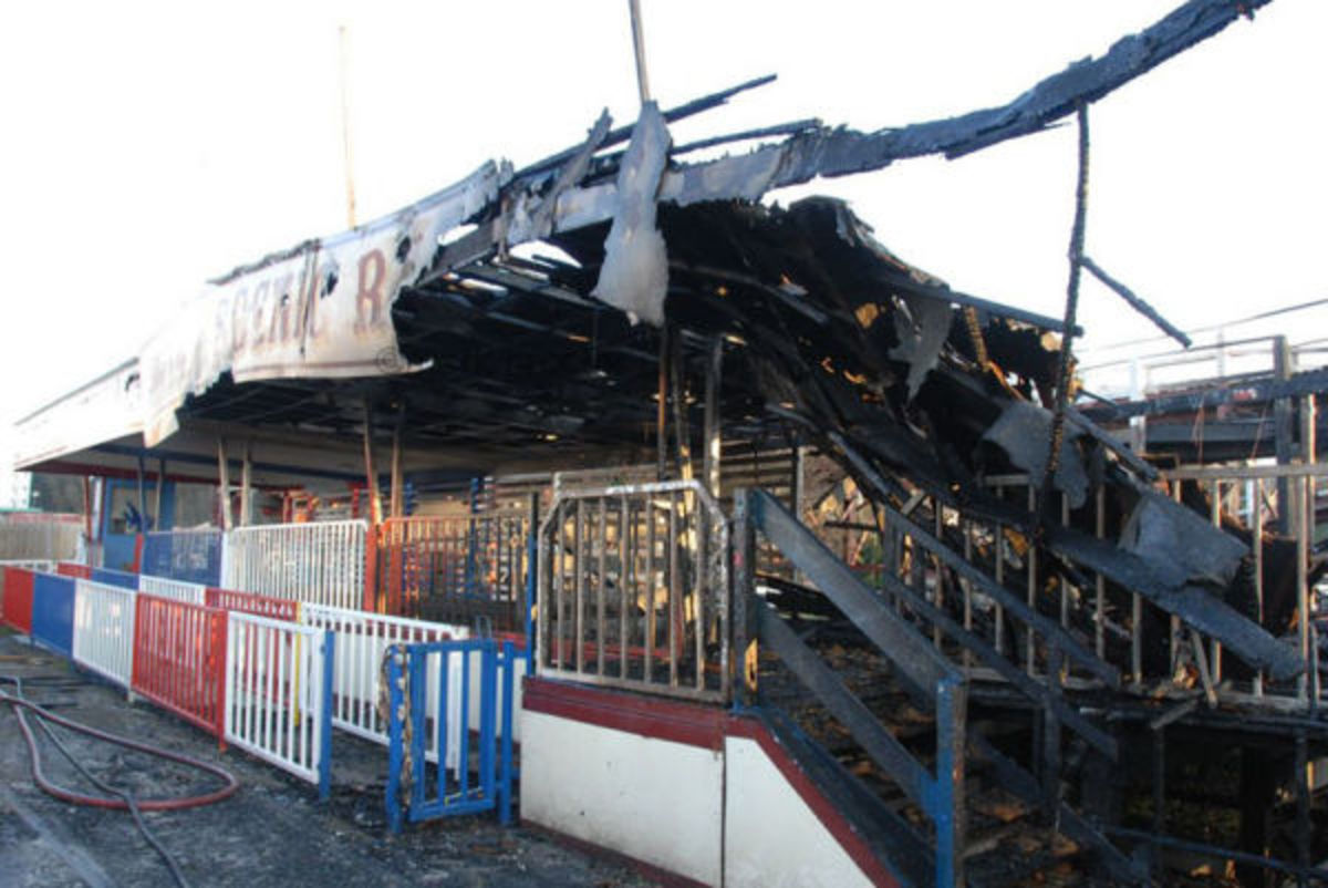 After the lastest fire in 2008, Dreamland remains closed to the public.