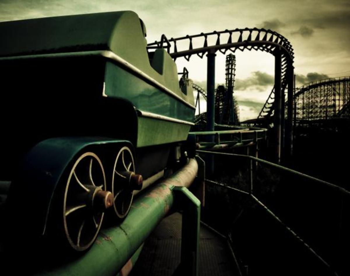 Dead roller coaster.