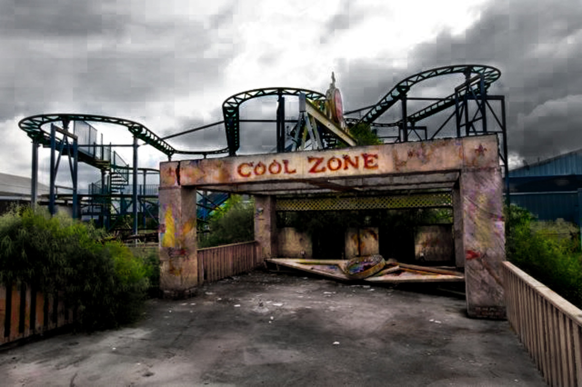 The creepy Cool Zone.