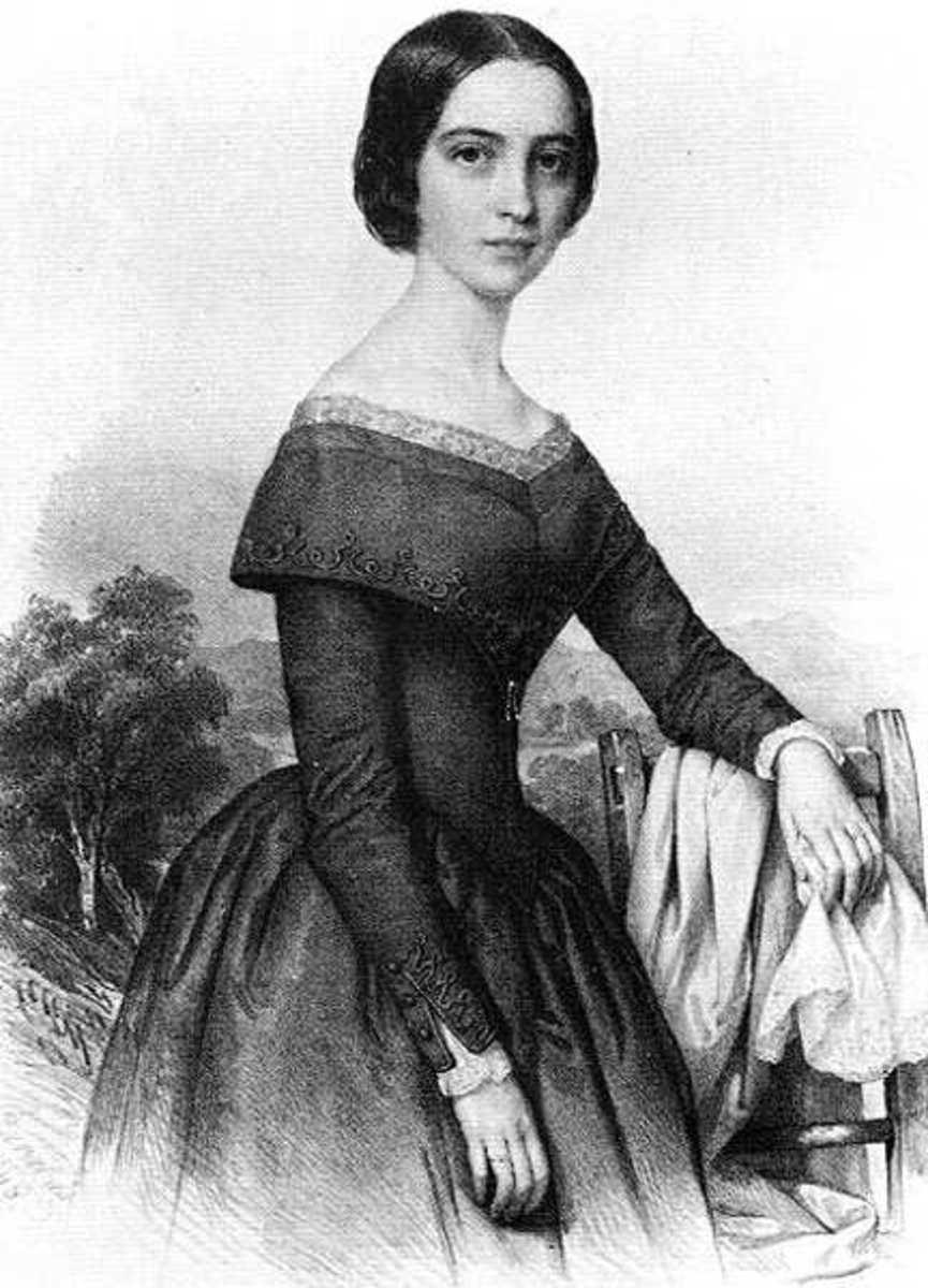 His Young wife - Julia Szendrey