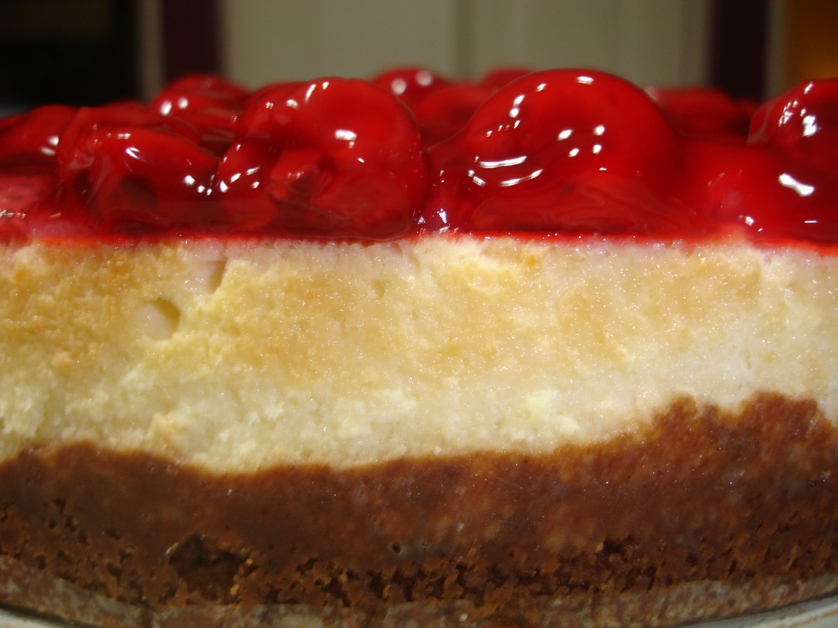 Traditional New york style cheesecake recipe.