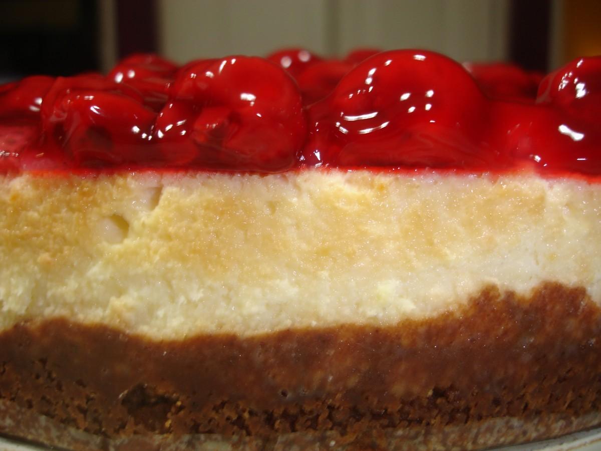 Traditional New York Cheesecake