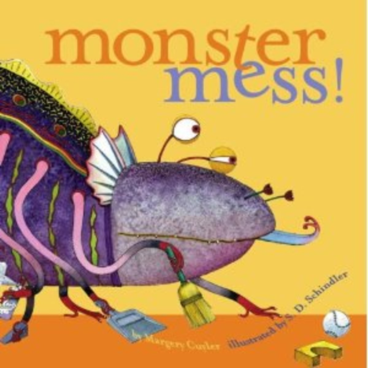 Monster Mess by Margery Cuyler