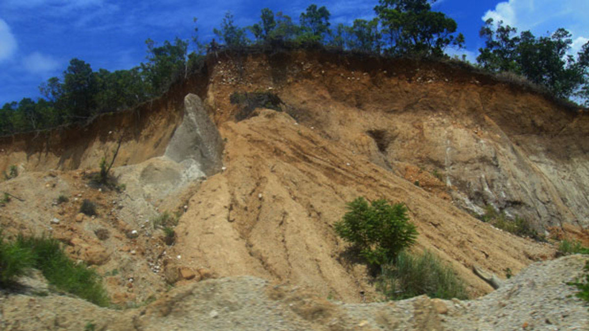 Landslides, like earthquakes happen without warning, so it is mandatory that your emergency supplies are easy to reach