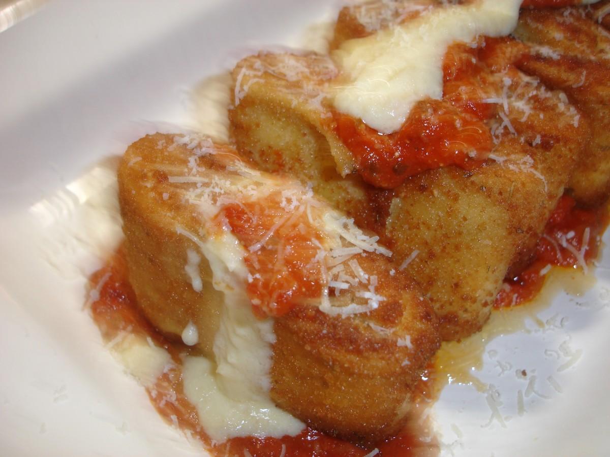 Olive Garden Recipe for Lasagna Fritta.