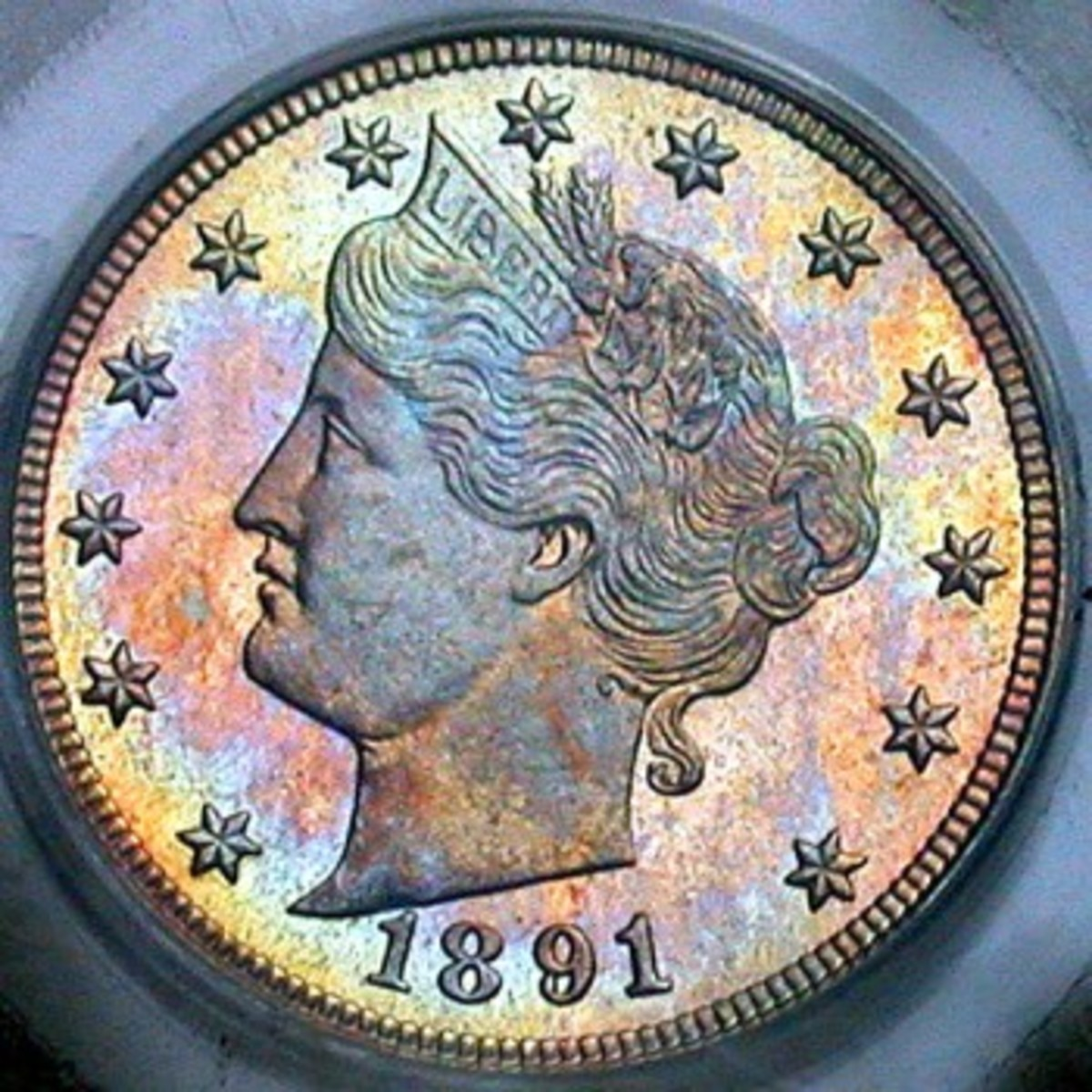 1891 Liberty Head Nickel Proof. Photo Courtesy Coinpage.com