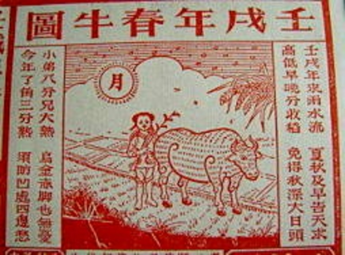 spring-cow-picture-in-chinese-almanac