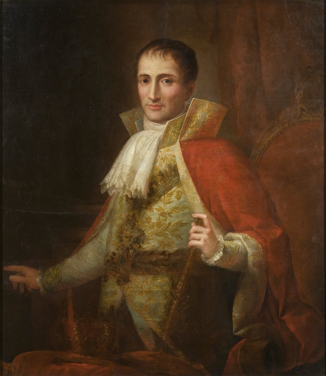 """Josée Flaugier - Portrait of King Joseph I (ca. 1809)"