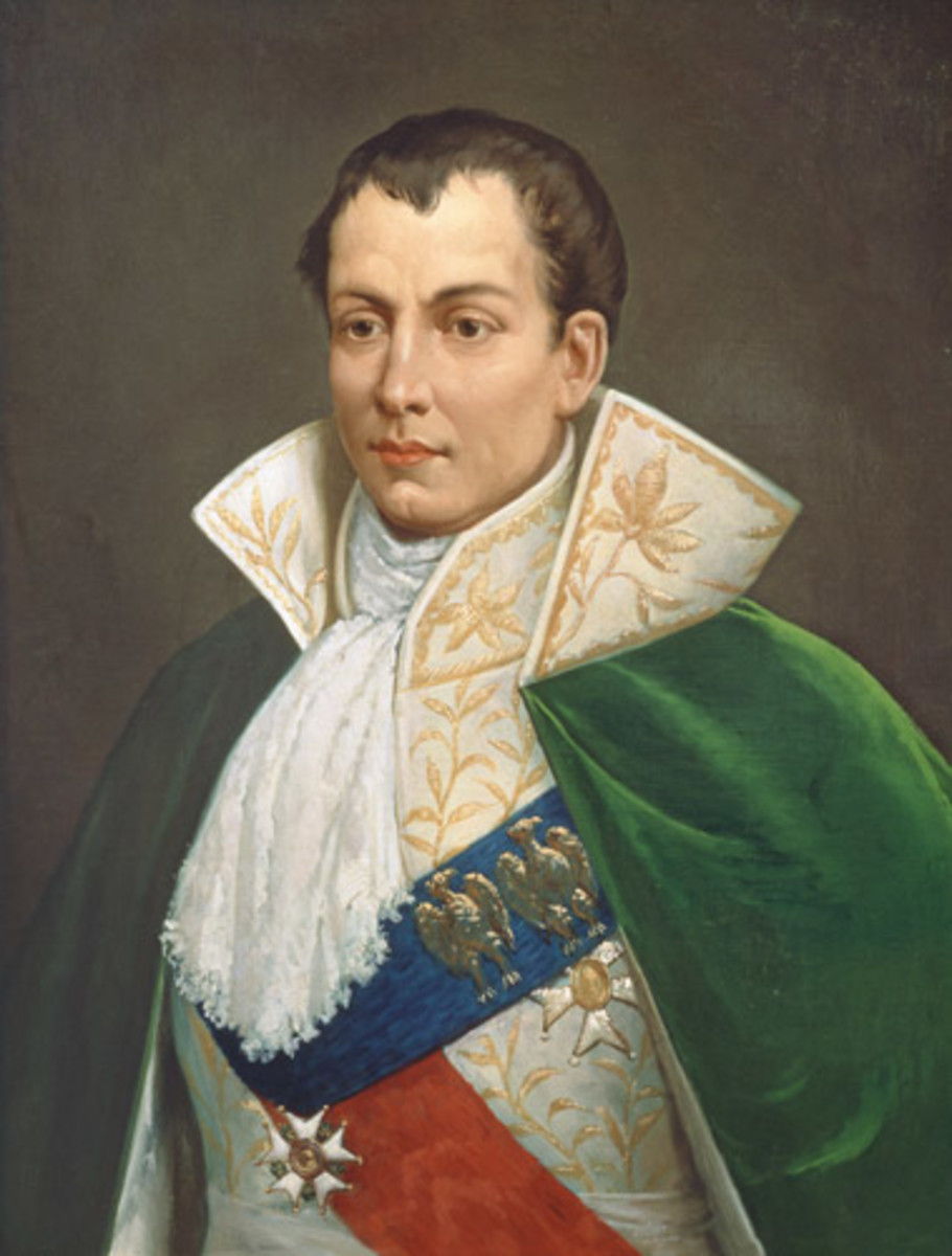 Joseph Bonaparte of Point Breeze, Bordentown New Jersey, Napoleon's Older Brother And Former King of Spain.