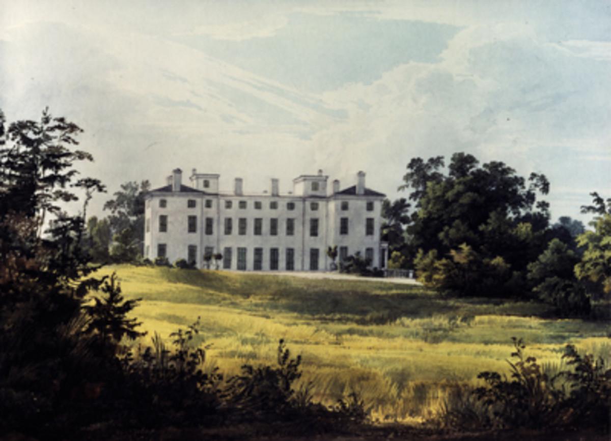Manor House of Joseph Bonaparte near Bordentown