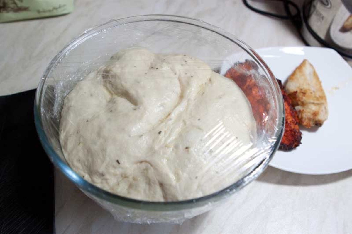 The ready dough is bouncy, stretchy and ready to roll and top with your favourite toppings