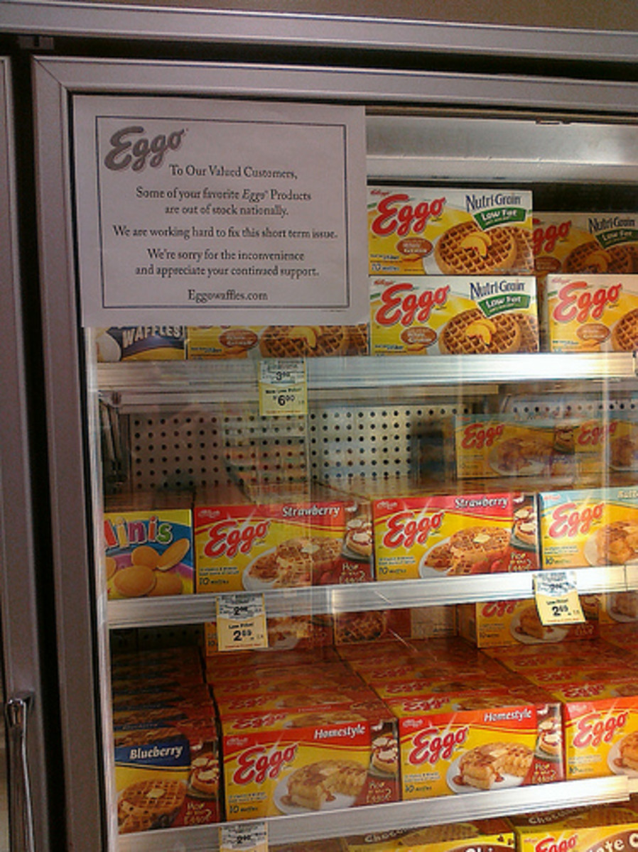 In 2009, Eggo had to recall some of its products because of concerns with salmonella poisoning. Fortunately, the issue seems to be resolved now!