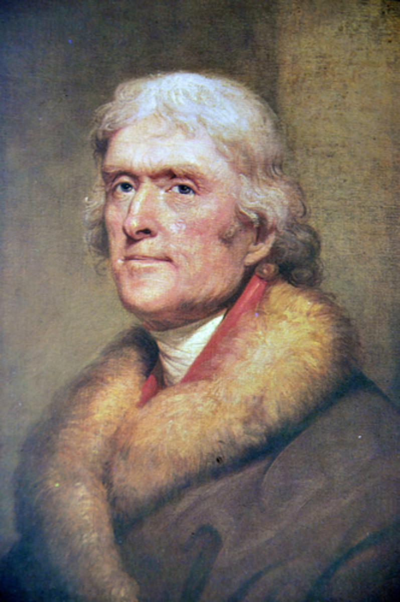Thomas Jefferson, French ambassador and waffle lover.