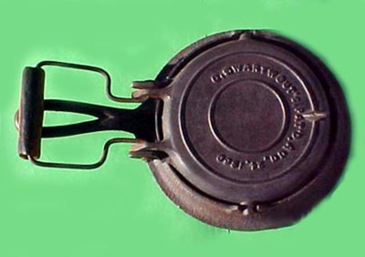 Cornelius Swartwout's famous waffle iron.