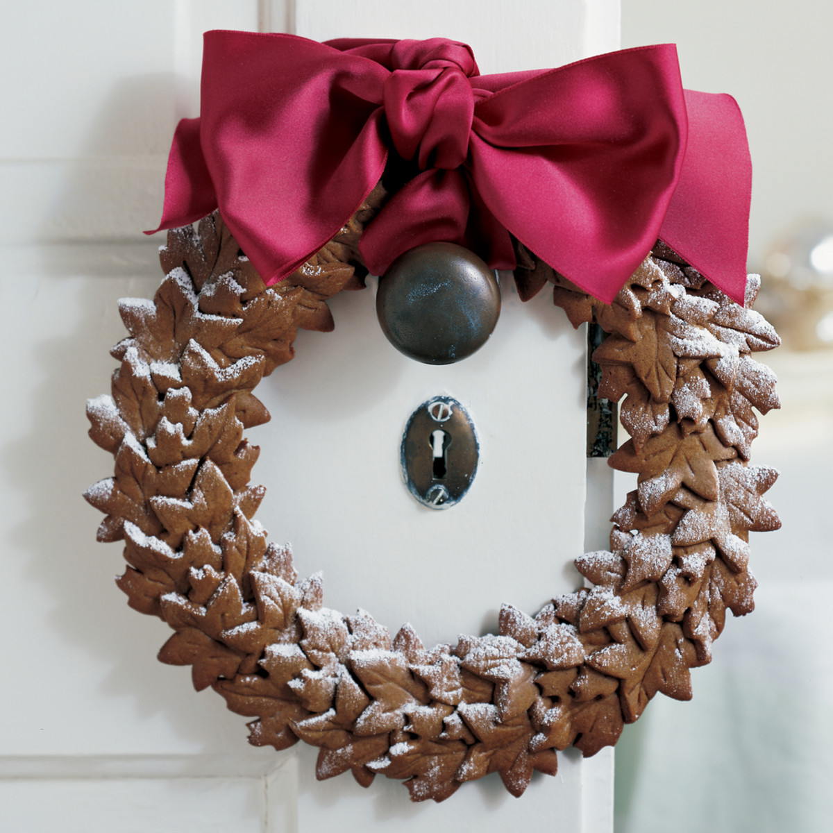 Take Christmas cookies in a different direction by making a wreath out of them.