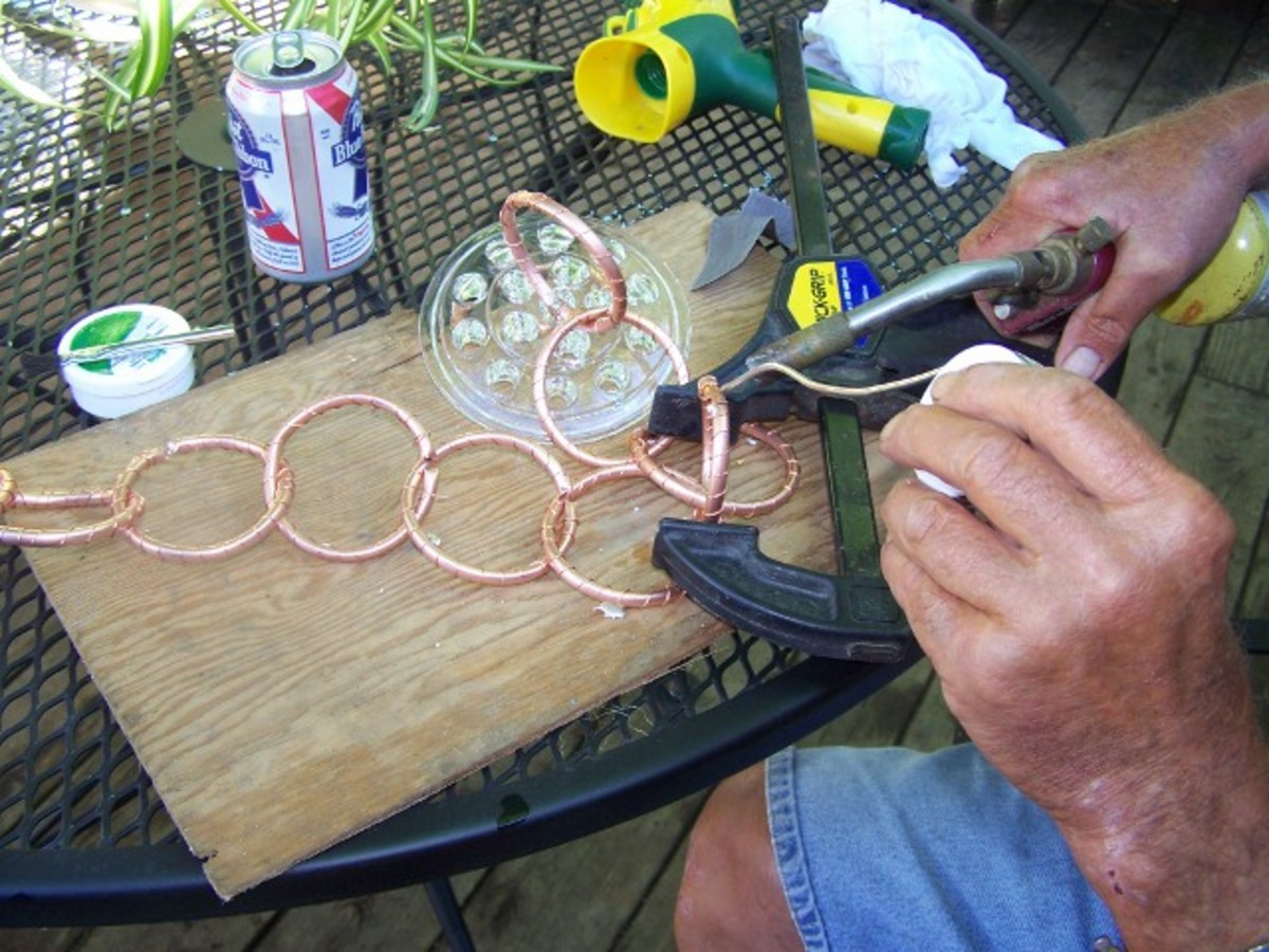 How to Make A Copper Rain Chain