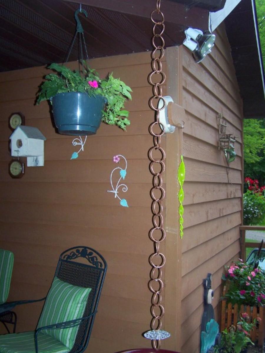 How to Make A Copper Rain Chain
