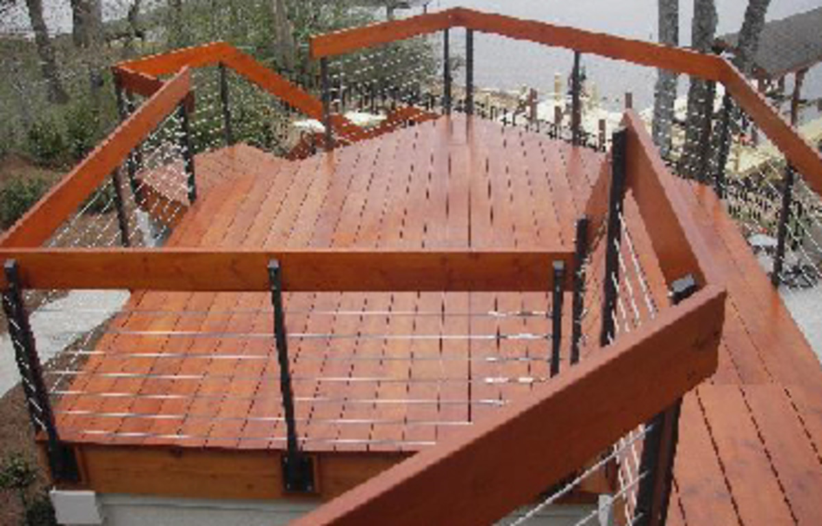 Hot new trends in deck railing ideas for your home | HubPages