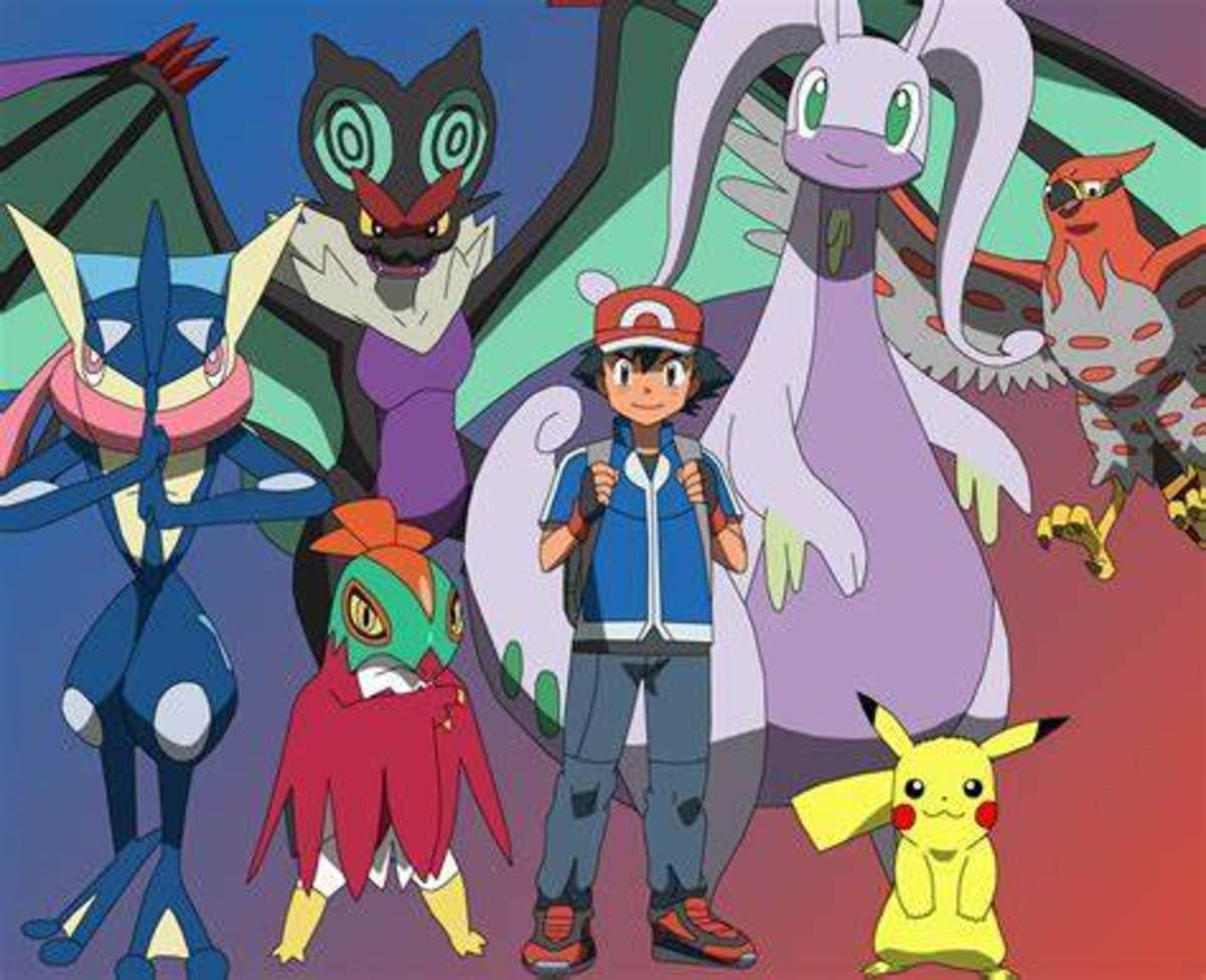 Ash's Kalos Team