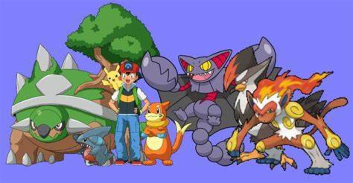Ash's Sinnoh team