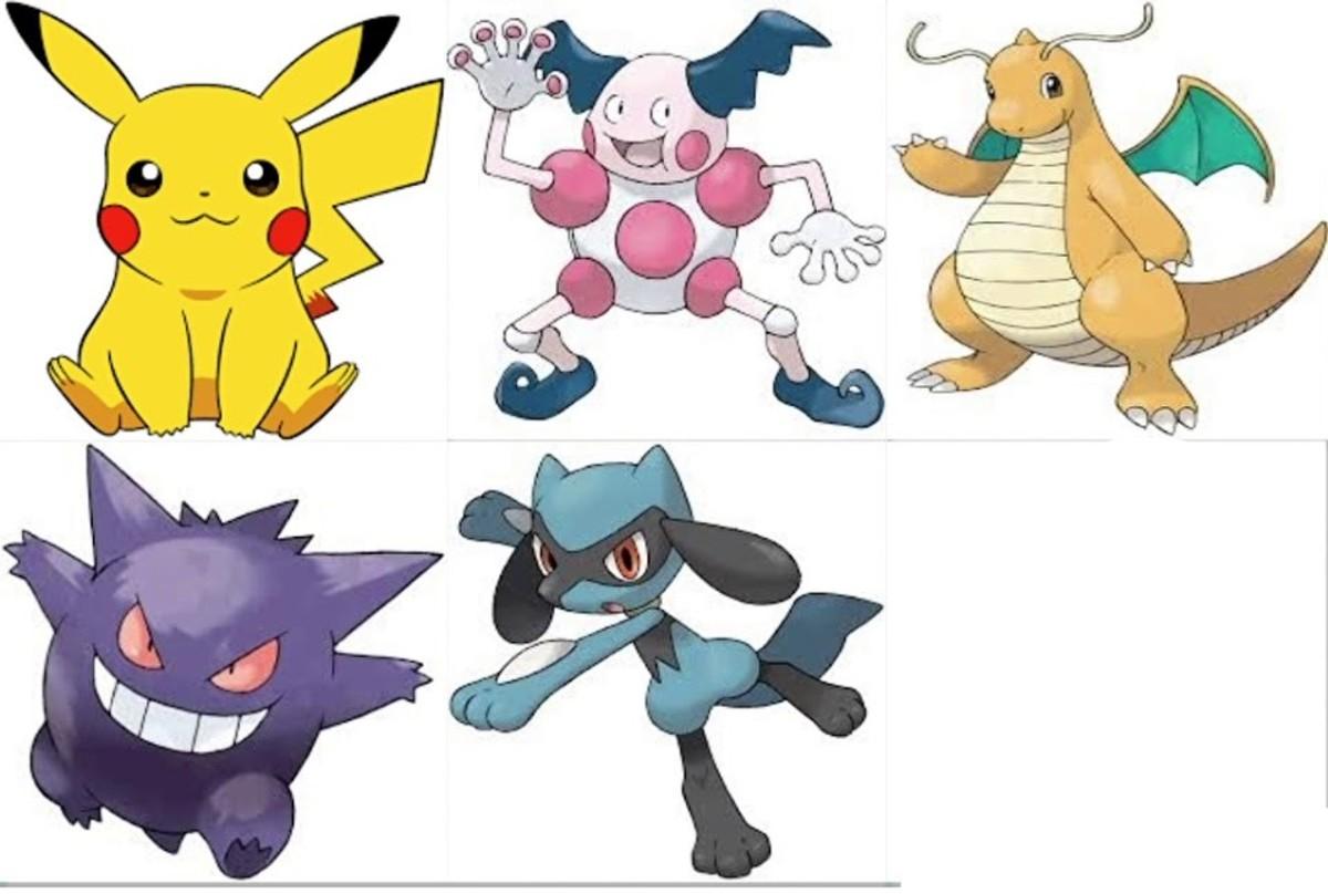 Ash's Pokémon Journeys team