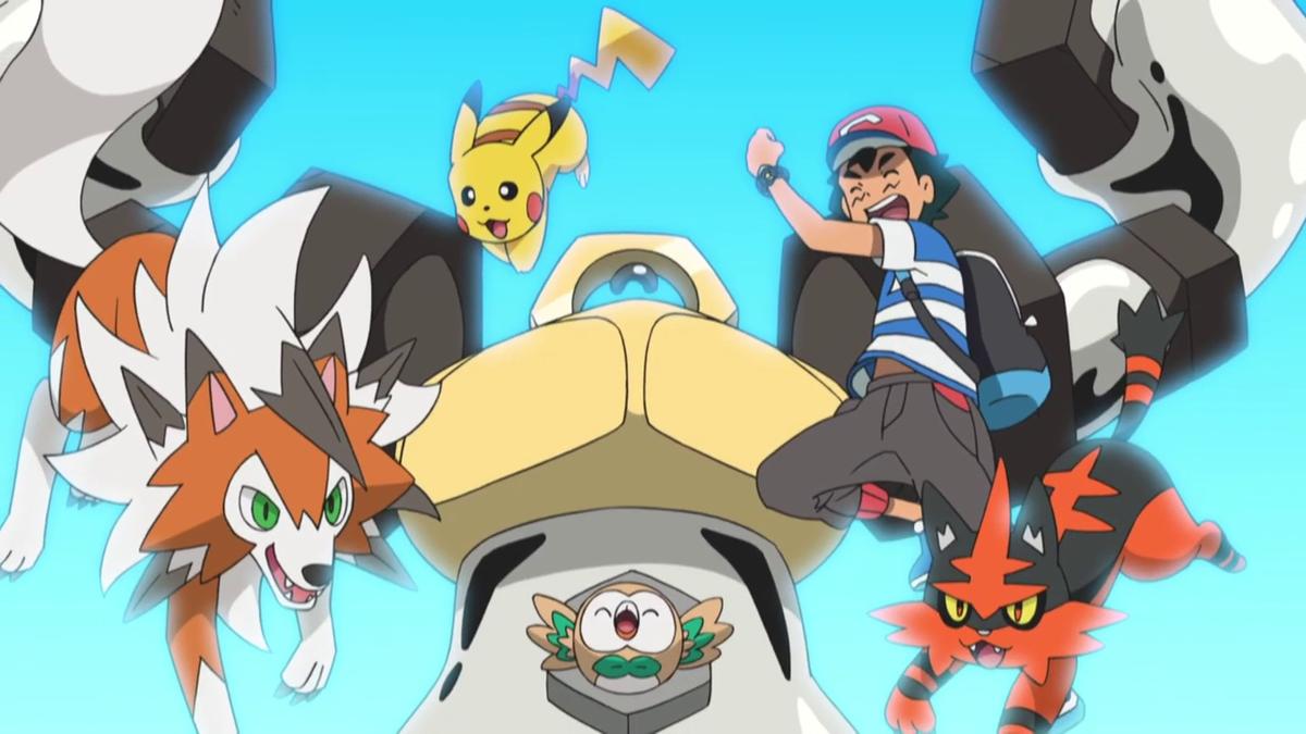 Ash's Alolan Team