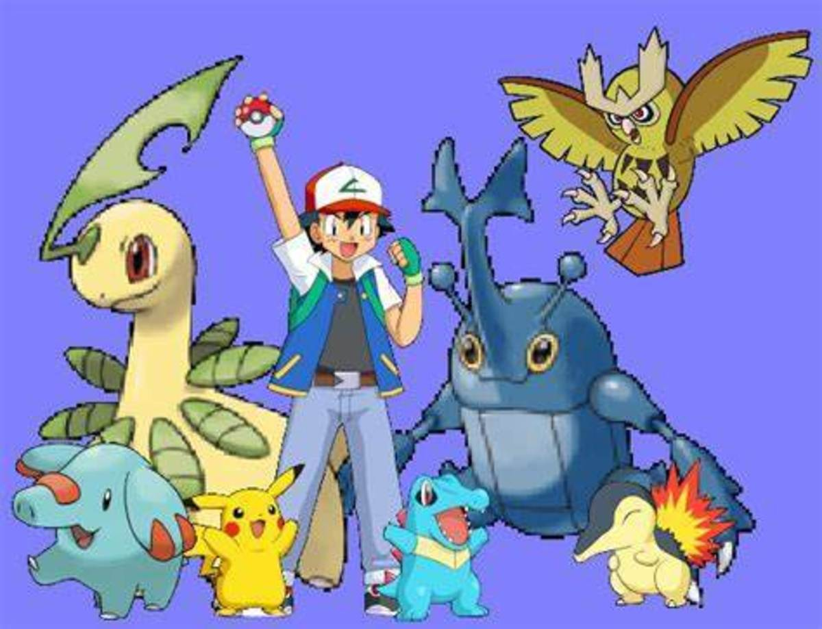 Ash's Johto Team