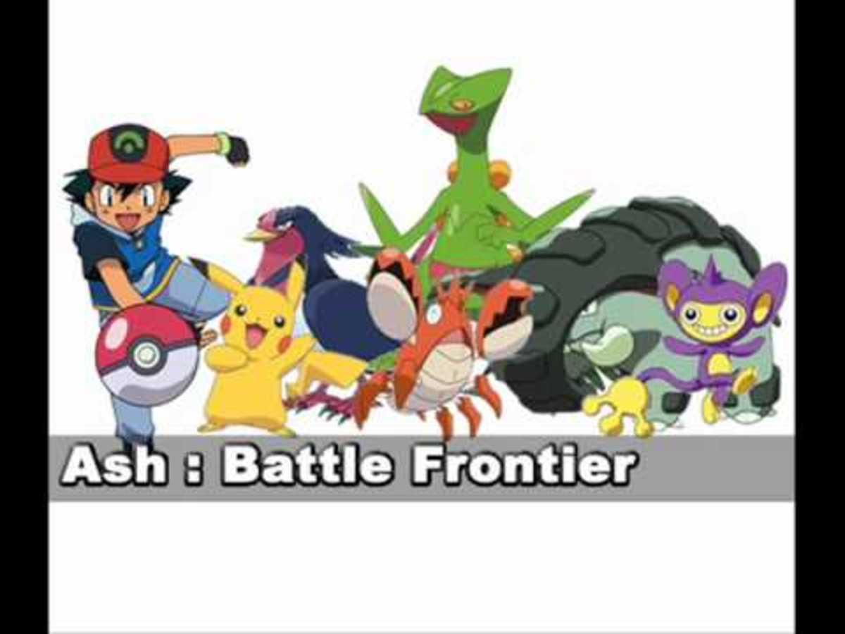 Ash's Battle Frontier team