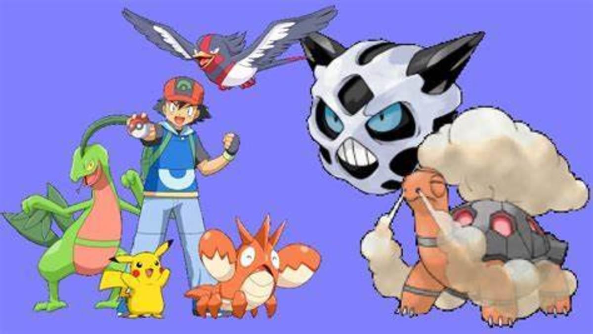 Ash's Hoenn Team