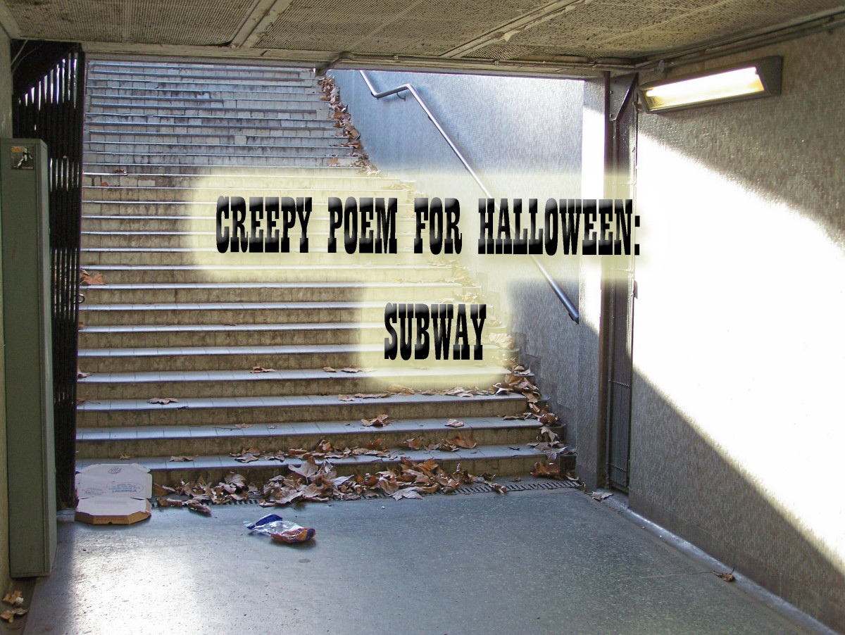 Creepy Poem for Halloween--Subway