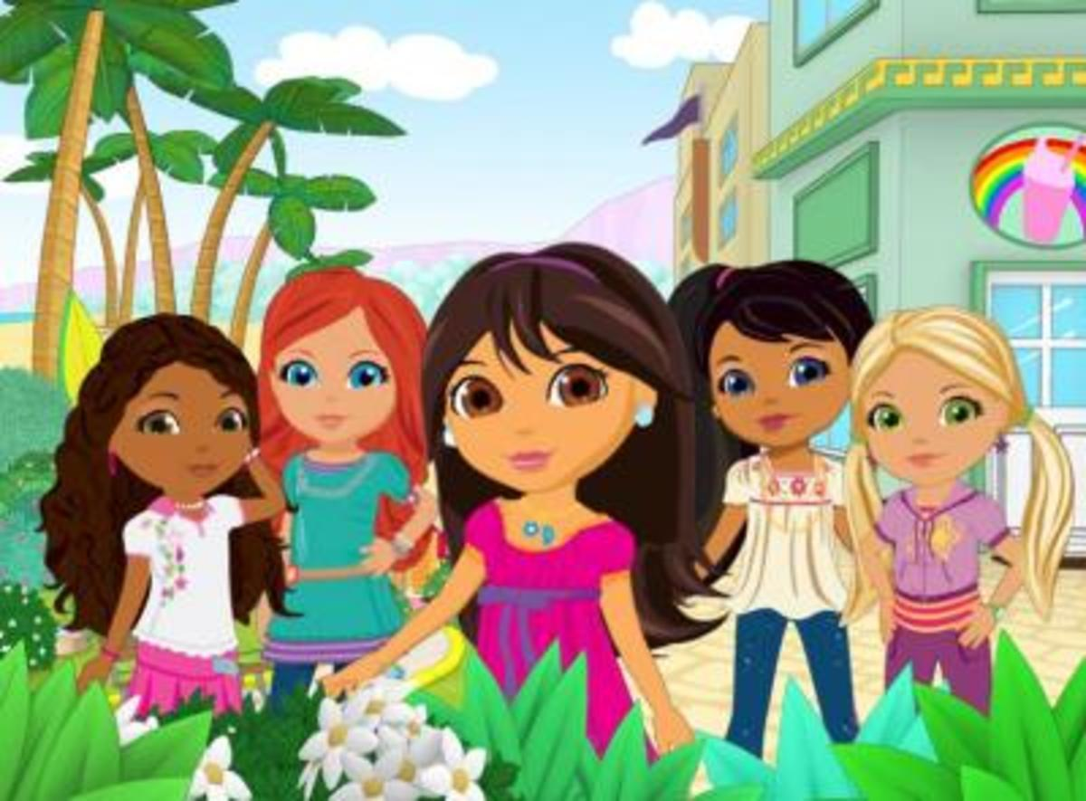 R to L: Emma, Kate, Dora, Naiya, Alana